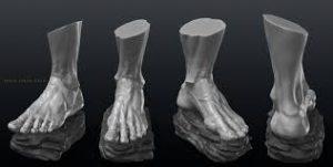 مدل فوت اسکنر سه بعدی - اسکنر سه بعدی پا