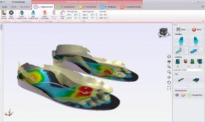 اسکنر سه بعدی کف پا طراحی کفی