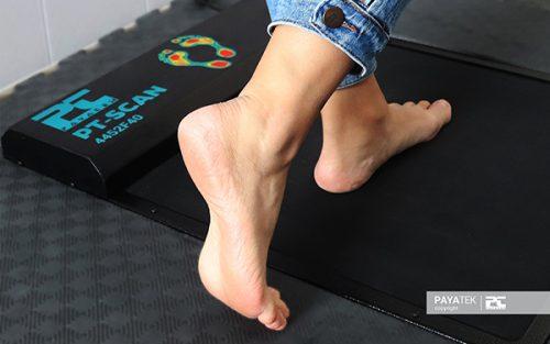 تست داینامیک اسکن پا | اسکنر فشار کف پا , فوت اسکنر , فوت پرشر