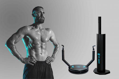 اسکن سه بعدی بدن ورزشکاران, نمای سه بعدی بدن, فیتنس, سه بعدی فیتنس